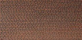 Faller (bulk of 10) Red Sandstone Wallboard (bulk of 10) Model Railroad Scratch Supply #170611