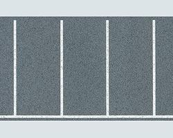 Faller Rectangular Parking Space Sheet w/Markings HO Scale Model Railroad Scenery #170633