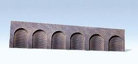 Faller Natural Stone w/Round Arch Left Slope Arcades HO Scale Model Railroad Scenery #170840