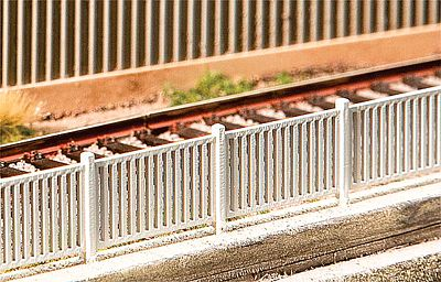 Faller Modern Metal Fencing Kit HO Scale Model Railroad Accessory #180428