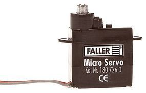 Faller Servo Motor for Turnouts & Animation Model Railroad Electrical Supply #180726