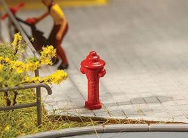 Faller Fire Hydrants (10) HO Scale Model Railroad Road Accessory #180912