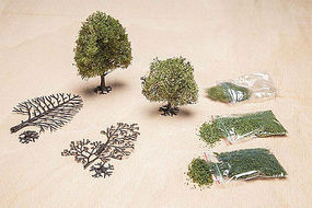Faller DIY Plane Tree Early Summer Model Railroad Tree #181107