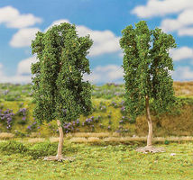 Faller Oak Trees 110mm (2) Model Railroad Tree #181451