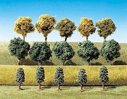 Faller Small Deciduous Trees (15) Model Railroad Tree #181471