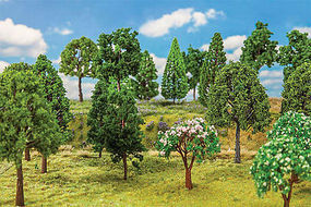 Faller Deciduous Trees 130mm (30) Model Railroad Tree #181525