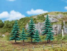Faller Fir Trees (6) Model Railroad Tree #181604