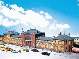 Faller Bonn Passenger Station N Scale Model Railroad Building #212113