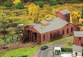 Faller Depot Set Engine Shed - N-Scale