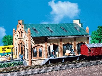 Faller Freight Shed N Scale Model Railroad Building #222134
