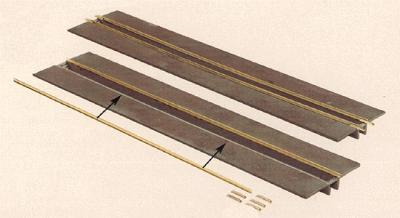Faller Inspection Pit w/2 Rails (Weathered Kit) N Scale Model Railroad Accessory #222147