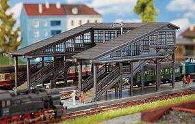 Faller Radolfzell Platform Pedestrian Bridge Kit N Scale Model Railroad Bridge #222153