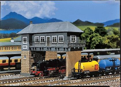 Faller Brugge Signal Box Kit N Scale Model Railroad Accessory #222160