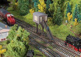 Faller Dahlhausen Signal Tower N Scale Model Railroad Building #222162