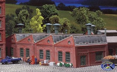 Faller Factory Halls N Scale Model Railroad Building #222203