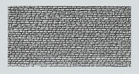Faller (bulk of 10) Natural Stone Ashlars Textured Wall Cards (Bulk of 10) N Scale Model Railroad Scenery #222567