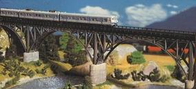 Faller Single Track Steel Arch Deck Bridge Kit N Scale Model Railroad Bridge #222581