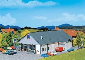 Faller Aldi Supermarket Kit N Scale Model Railroad Building #232204