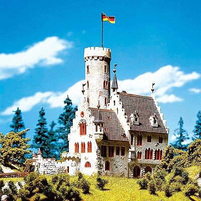 Faller Gmbh Castle with Moat -- N Scale Model Railroad Building -- #232242
