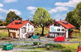 Faller Pharmacy and Bakery Building Kit N Scale Model Railroad Building #232245