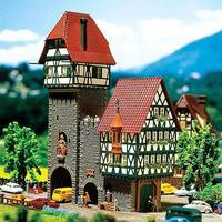 Faller Old City Gate N Scale Model Railroad Building #232284