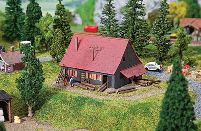 Faller Foresters Lodge Kit N Scale Model Railroad Building #232358
