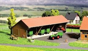 Faller Vehicle Storage Shed Kit N Scale Model Railroad Building #232365