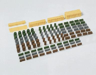 Faller Assorted Goods N Scale Model Railroad Building Accessory #272537