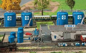 Faller Aral Tank Farm Kit Z Scale Model Railroad Accessory #282747