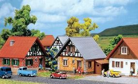 Faller Development House Z Scale Model Railroad Building #282763