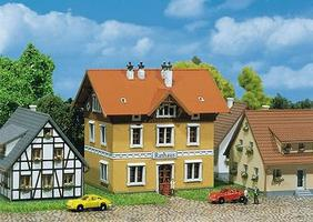 Faller Town Hall, Era II Z Scale Model Railroad Building #282776