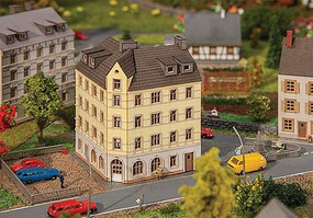 Faller Town Corner House - Z-Scale