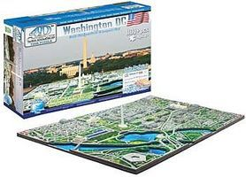 4D-Cityscape Washington DC Skyline 1100pcs 3D Jigsaw Puzzle #40018