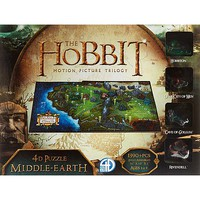 4D-Cityscape 4D Hobbit Middle Earth 4D Jigsaw Puzzle #51100