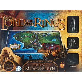 4D-Cityscape 4D Lord of the Ring Middle Earth 4D Jigsaw Puzzle #51102