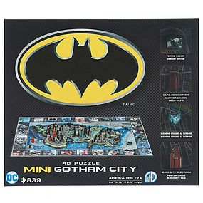 4D-Cityscape 4D Mini Batman Gotham City