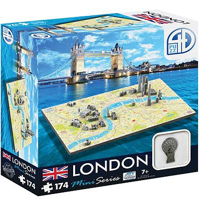 4D Cityscape Puzzles 4D Mini London 174pcs -- 4D Jigsaw Puzzle -- #70002