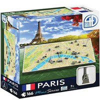4D-Cityscape 4D Mini Paris 166pcs 4D Jigsaw Puzzle #70004