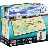 4D-Cityscape 4D Mini Washington DC 164pcs 4D Jigsaw Puzzle #70006