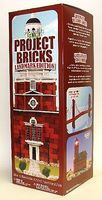 Floracraft Make it Fun- Landmark Project Bricks Red Styrofoam Kit (285pcs)