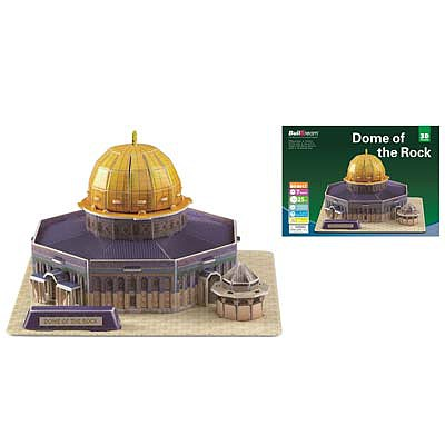 Firefox Toys LLC Dome Of The Rock 25pcs -- 3D Jigsaw Puzzle -- #bd-b017