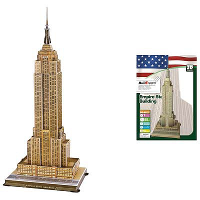 Firefox Toys LLC Empire State Building 55pcs -- 3D Jigsaw Puzzle -- #bd-b027