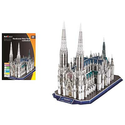 Firefox Toys LLC St. Patrick's Cathedral 117pcs -- 3D Jigsaw Puzzle -- #bd-b049
