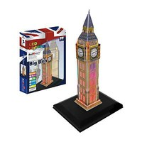 Firefox Big Ben with Light 28pcs 3D Jigsaw Puzzle #bd-l101