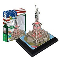 Firefox Statue of Liberty with Light 37pcs 3D Jigsaw Puzzle #bd-l102