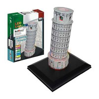 Firefox Leaning Tower of Pisa with Light 15pcs 3D Jigsaw Puzzle #bd-l103