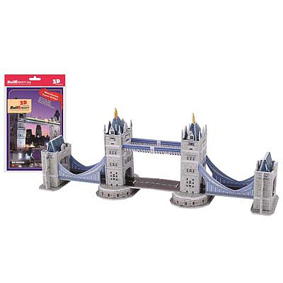 Firefox Toys LLC Tower Bridge 30pcs -- 3D Jigsaw Puzzle -- #bd-mb006