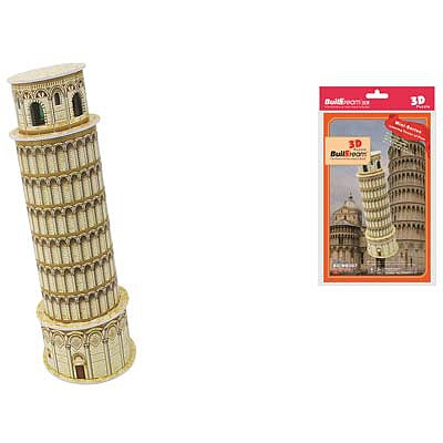 Firefox Toys LLC Leaning Tower of Pisa 8pcs -- 3D Jigsaw Puzzle -- #bd-mb007