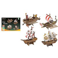 Firefox Ship Series 73pcs (4 Styles) 3D Jigsaw Puzzle #bd-t004s