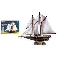 Firefox The Bluenoses Ship 80pcs 3D Jigsaw Puzzle #bd-t008s